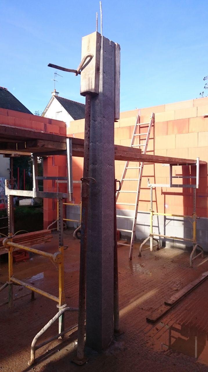 poteau beton