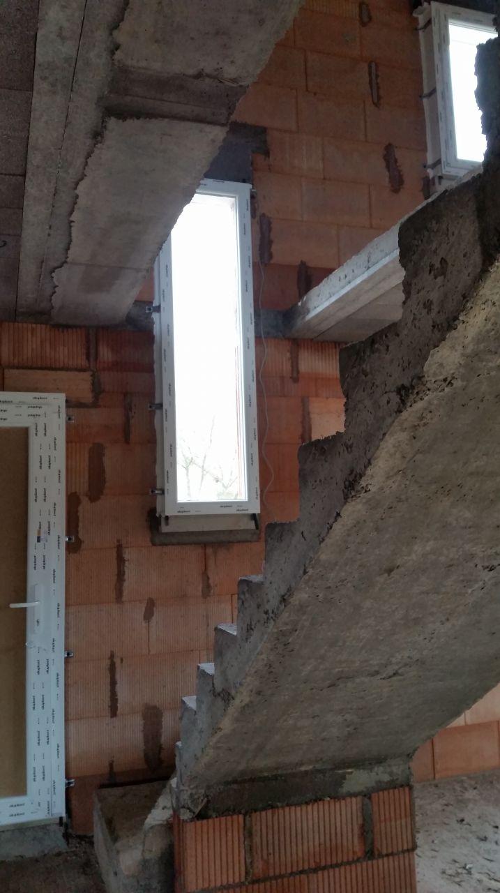 Fenêtre de l'escalier
