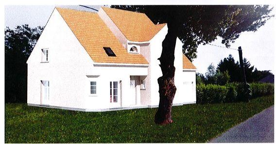 il s'agit de la façade de notre maison pour le permis de construire