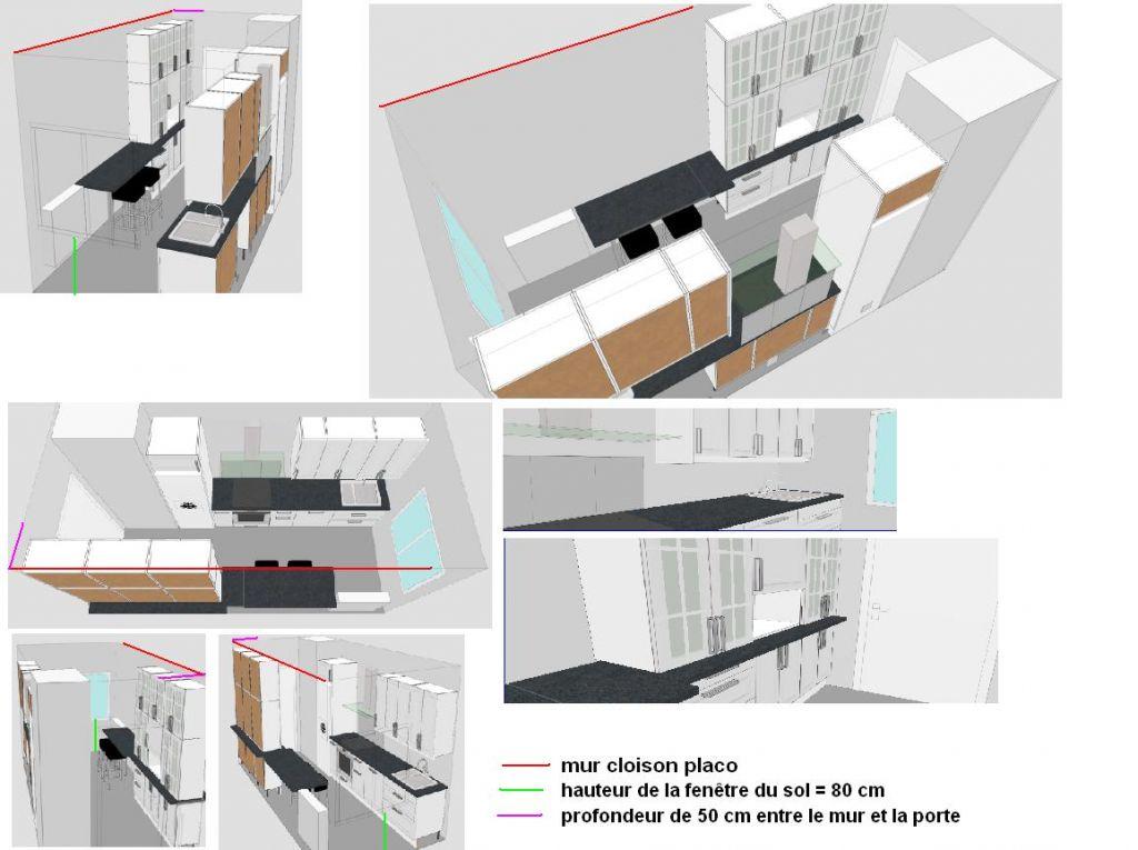 plan cuisine ikea 8 m2 vos avis 5 messages. Black Bedroom Furniture Sets. Home Design Ideas