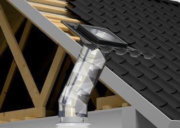 le conduit de lumière Sun Tunnel flexible de Velux.