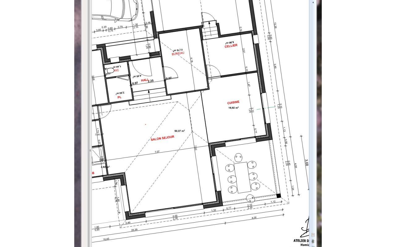 Plan De Travail Neoquartz cinq à la maison, venerieu (isere)