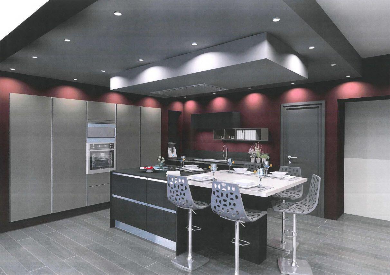 Visuel 3D de la cuisine