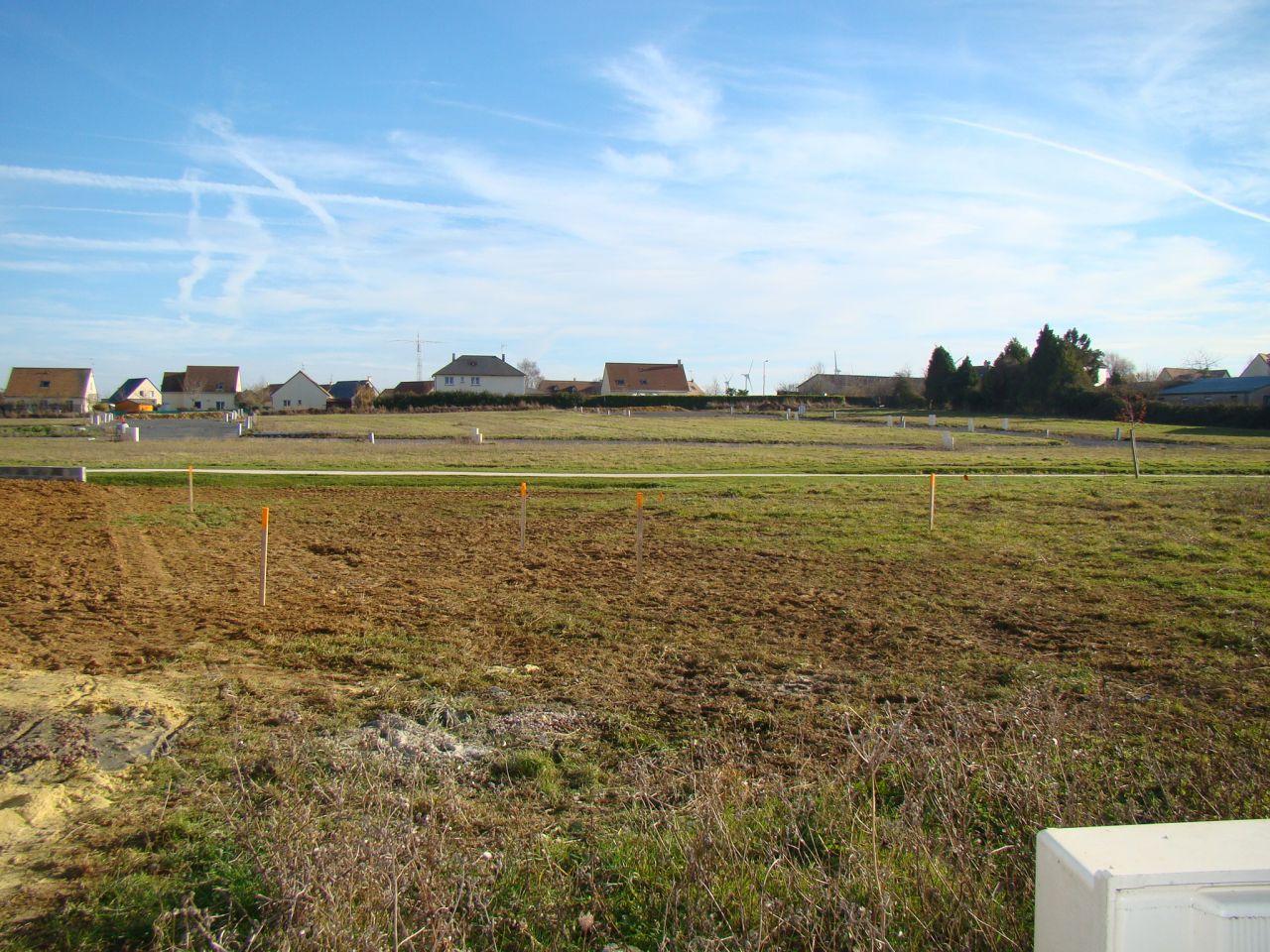 Implantation de la maison sur le terrain