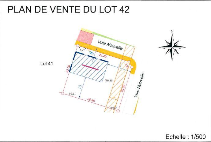 Terrain Lot N°42