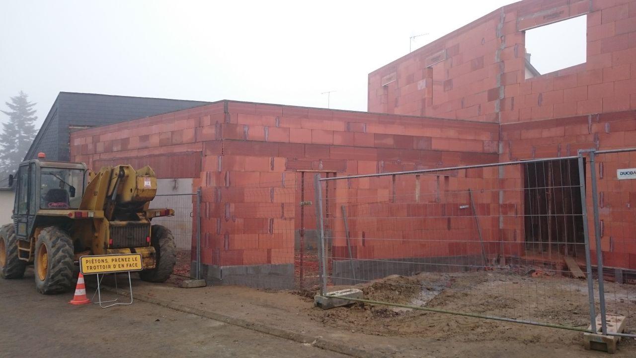 Murs garage finis