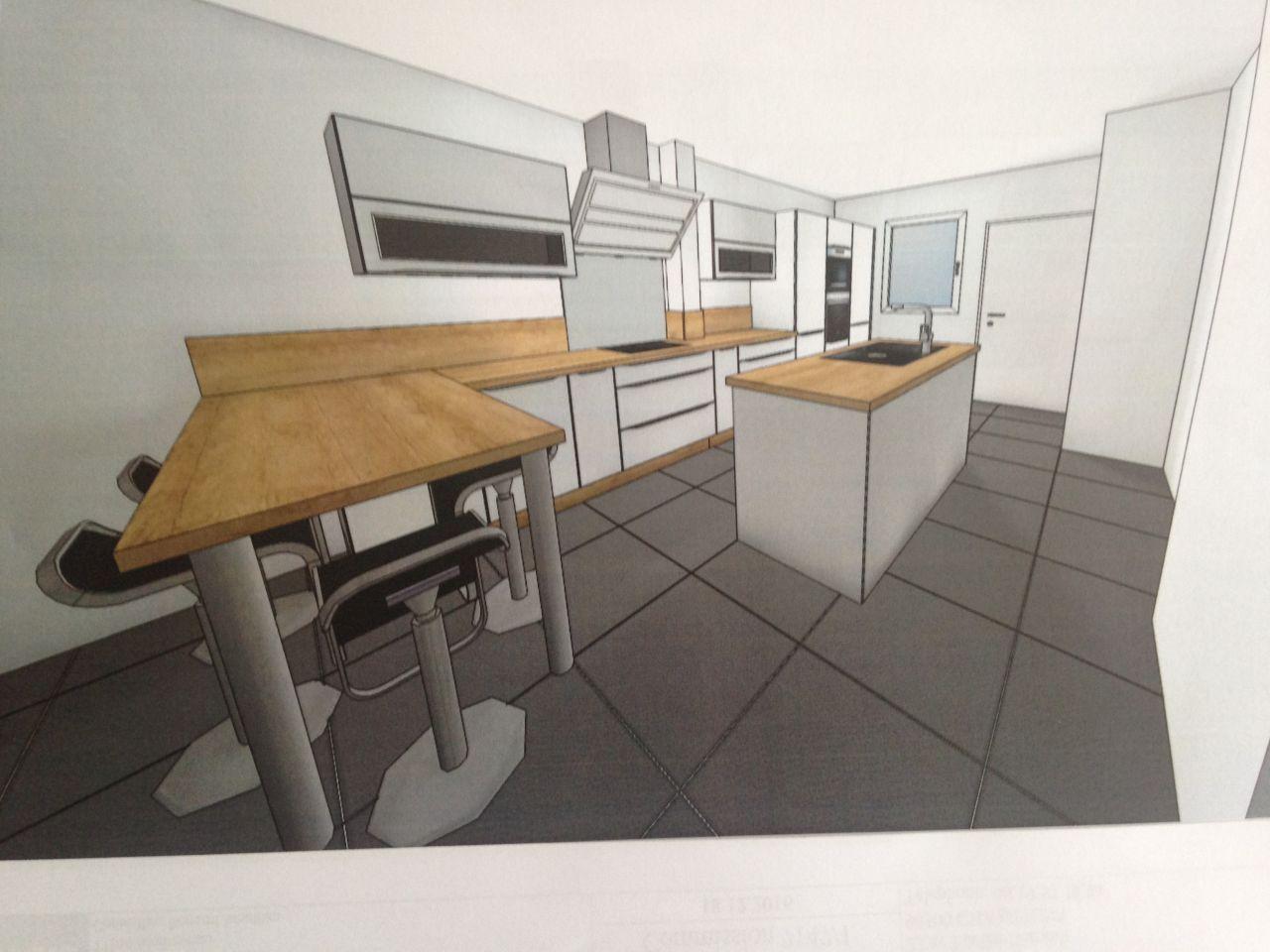 Projet 3D cuisine Ixina