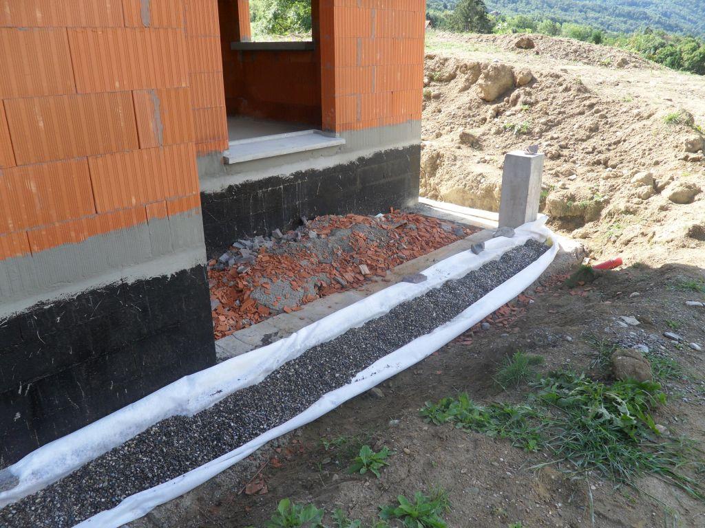 Poser un drain autour d une maison ventana blog - Drainage d une maison ...