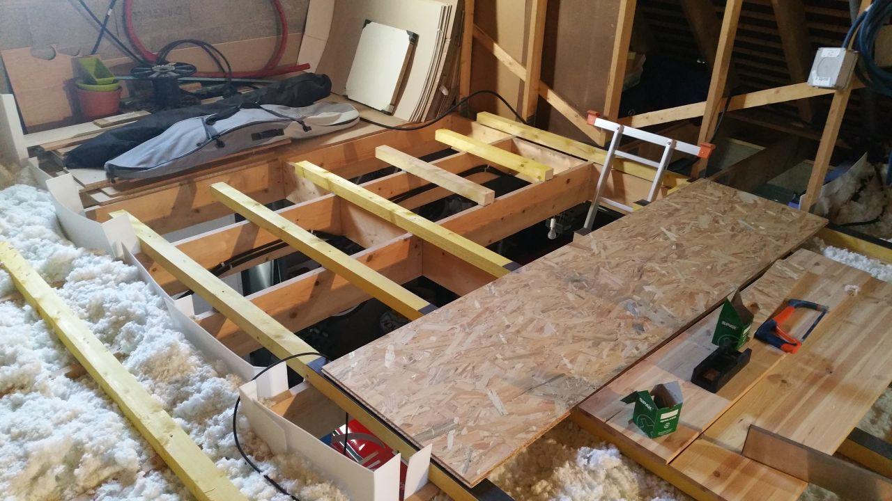 isolation combles et plancher sur garage r solu 20 messages. Black Bedroom Furniture Sets. Home Design Ideas