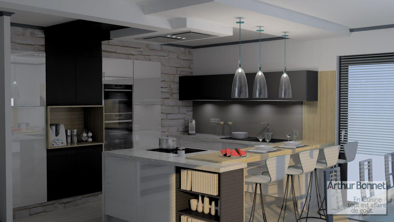 Caissons cuisine pas cher meuble bas 80 cm 2 portes for Caisson armoire de cuisine