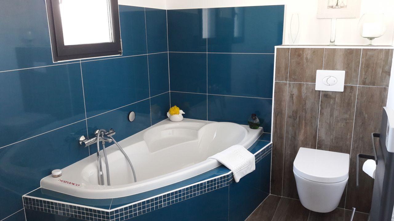 salle de bain dur mezzanine