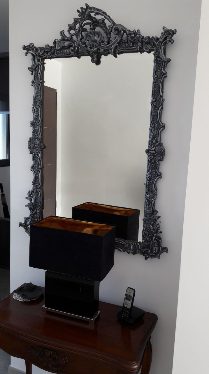 miroir après refection