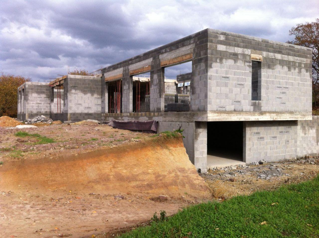 Murs RDC + Acrotères.