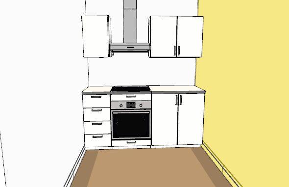 ouverture des portes de cuisine entre deux murs 11 messages. Black Bedroom Furniture Sets. Home Design Ideas