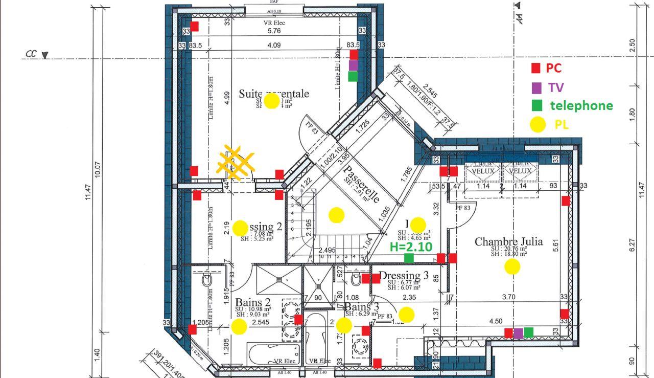 Schema electrique maison neuve plomberie maison ju0027ai for Raccordement gaz maison neuve