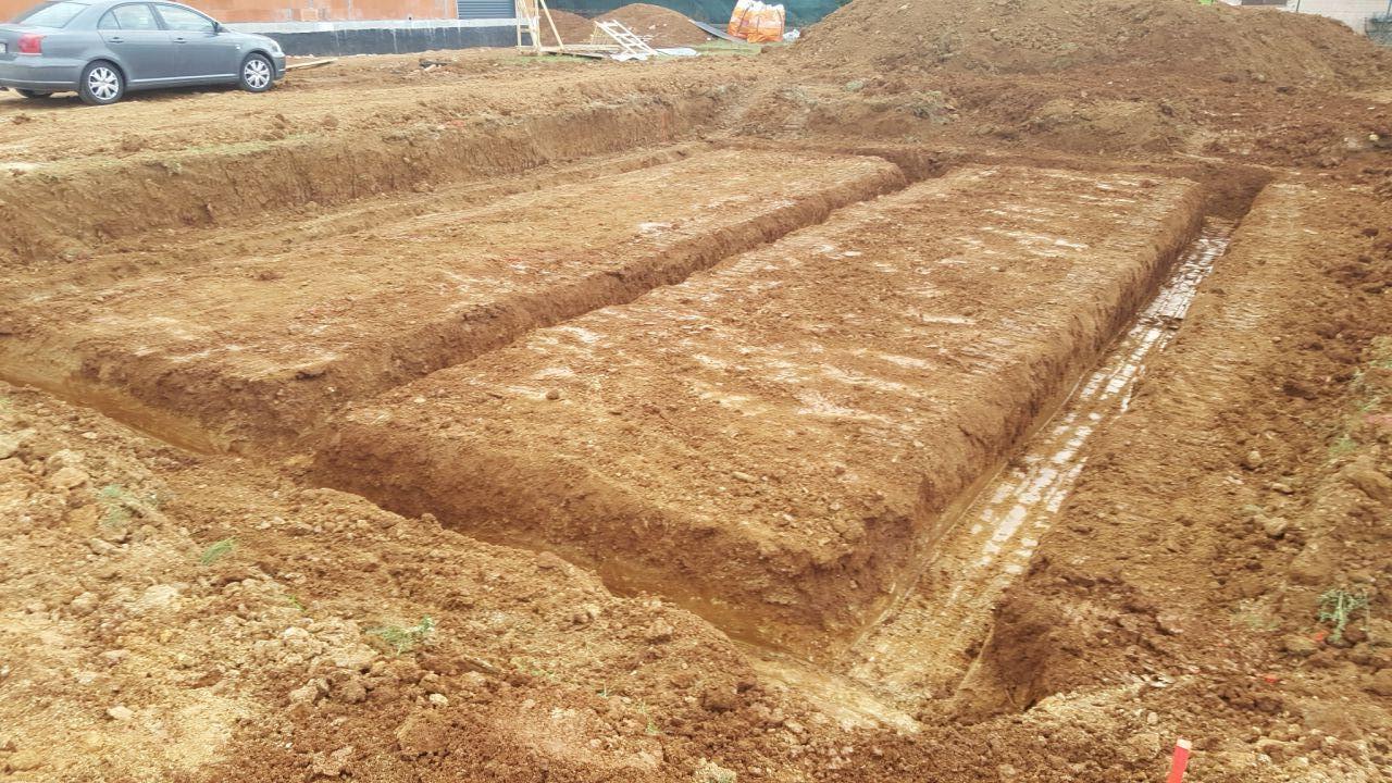 fouilles des fondations