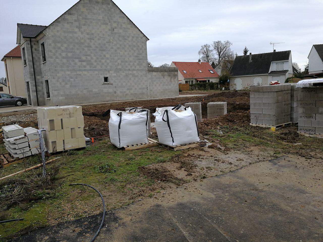 livraison matériaux pour le vide sanitaire