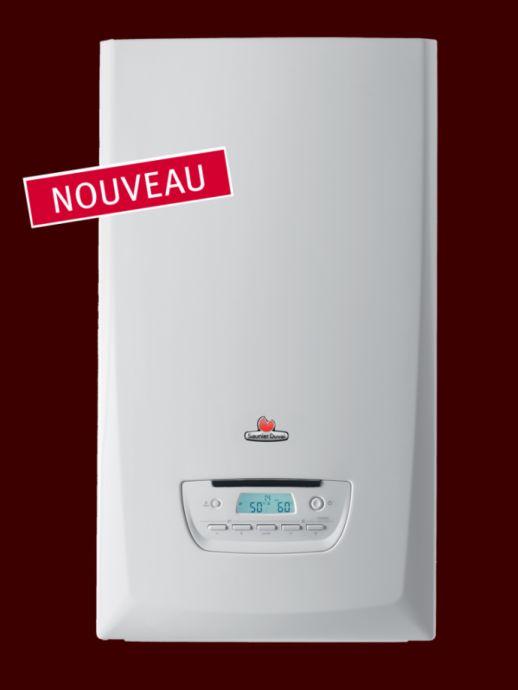 chaudière gaz à condensation SAUNIER DUVAL