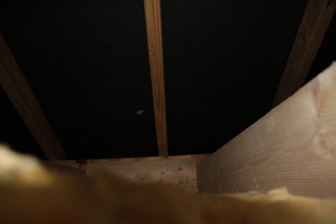 ecran sous toiture pas réparé
