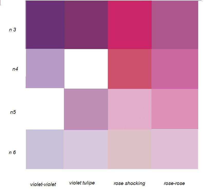 Quel rose, violet choisir ?(Leroy merlin)