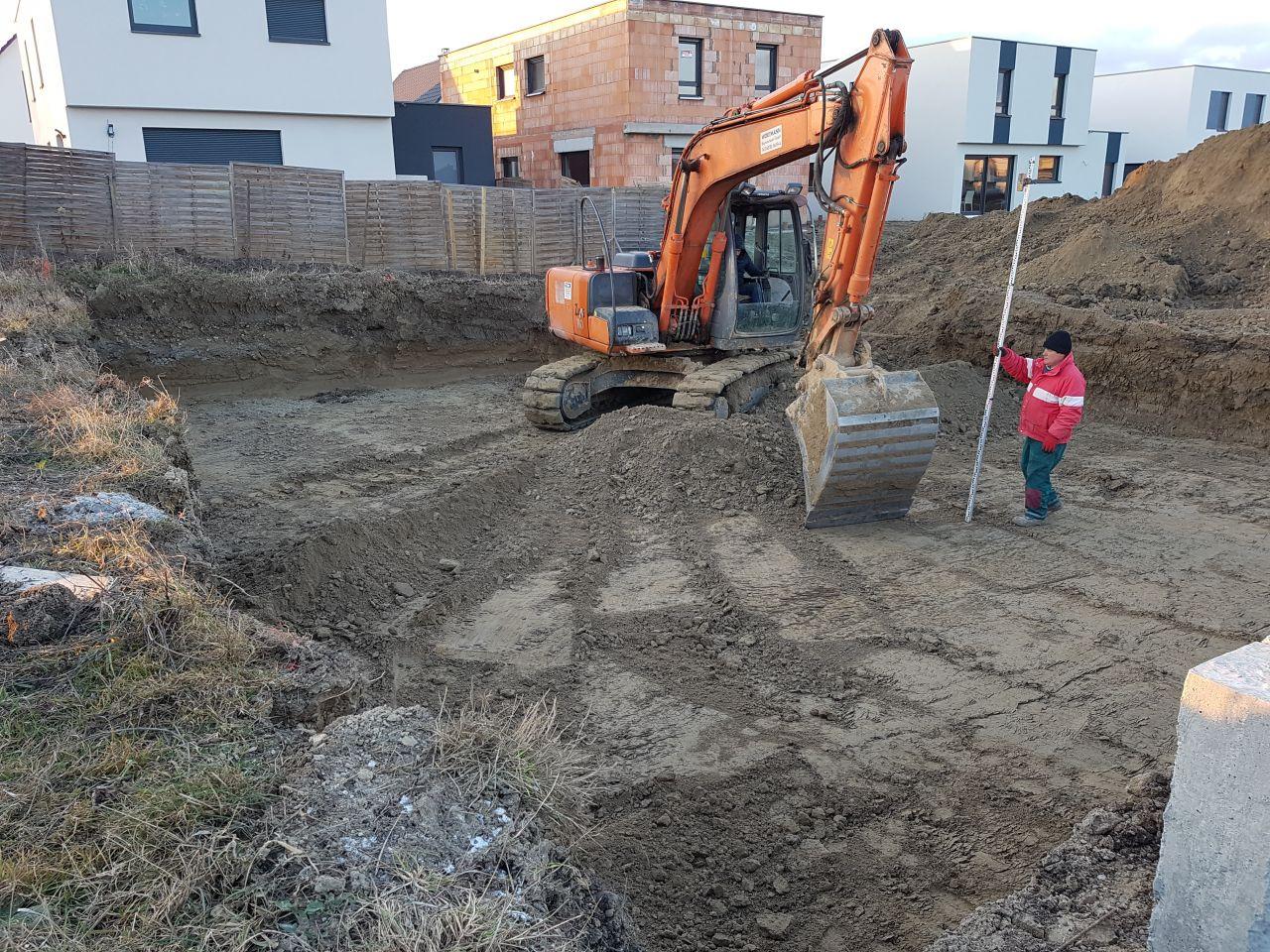 Démarrage du chantier