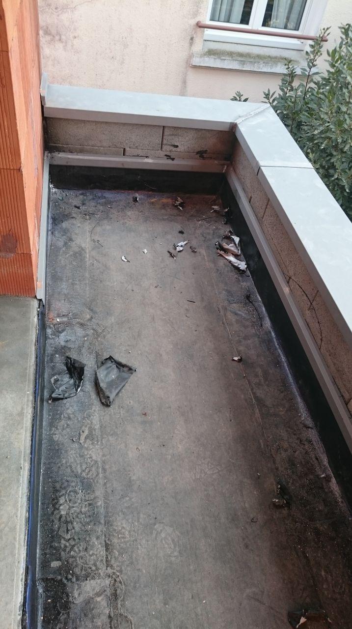 Étanchéité balcon