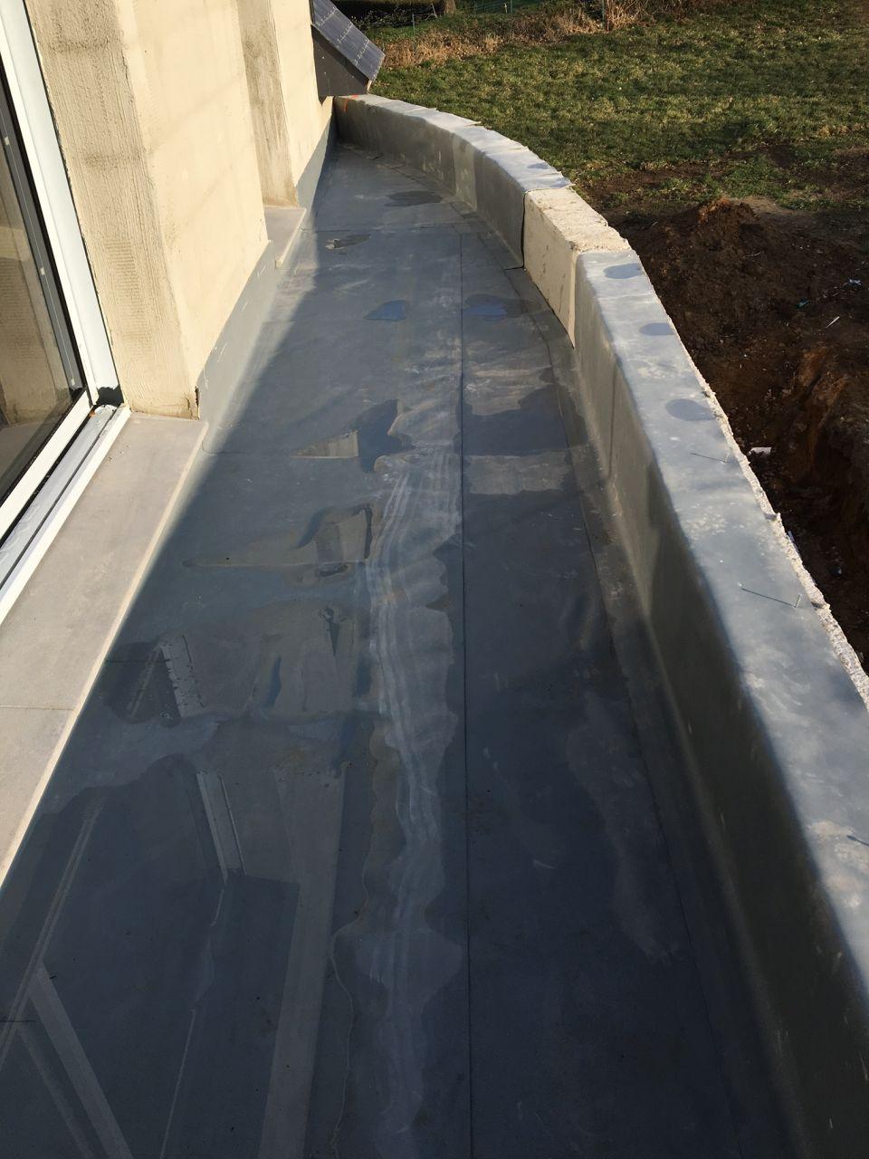 membrane isolante balcon