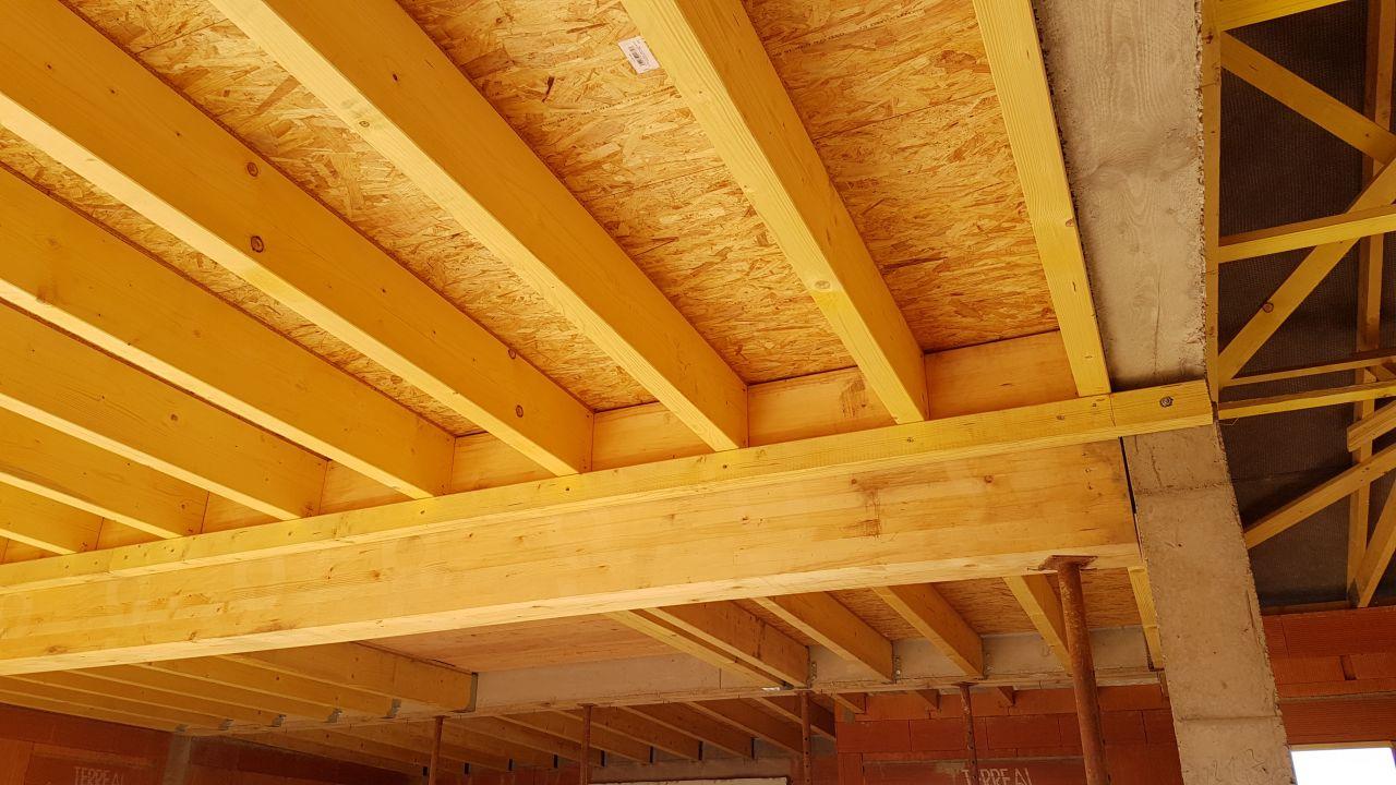 Détail plancher bois