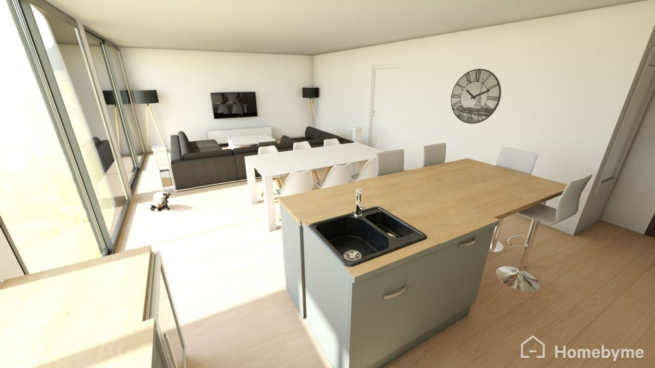 Vues 3d de l 39 am nagement int rieur loire atlantique - Amenagement interieur 3d ...