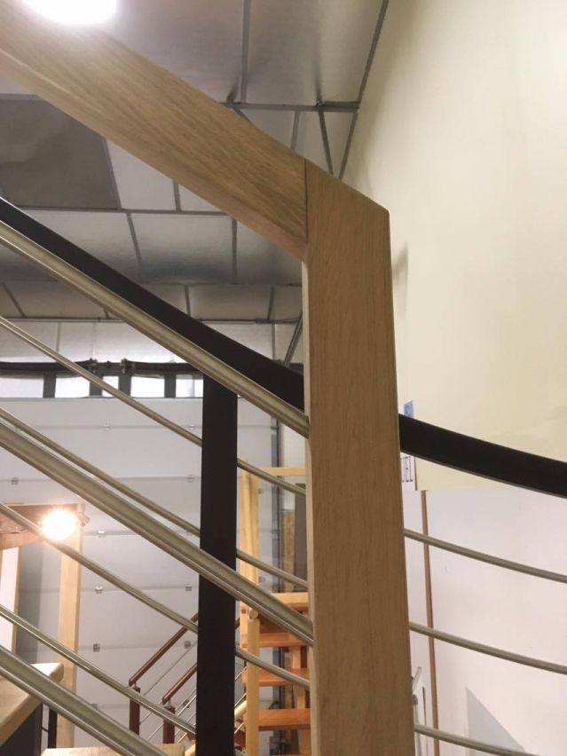 rembarde de l'escalier