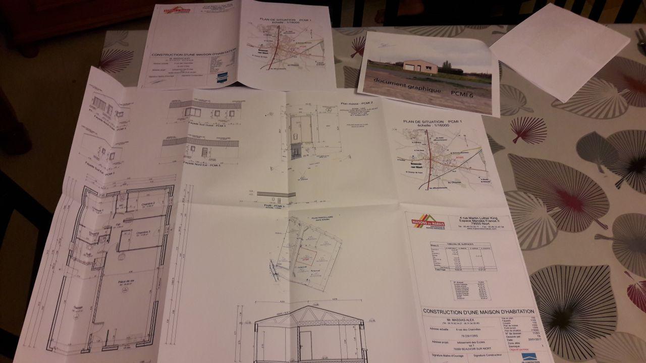 Dossier pour permis de construire