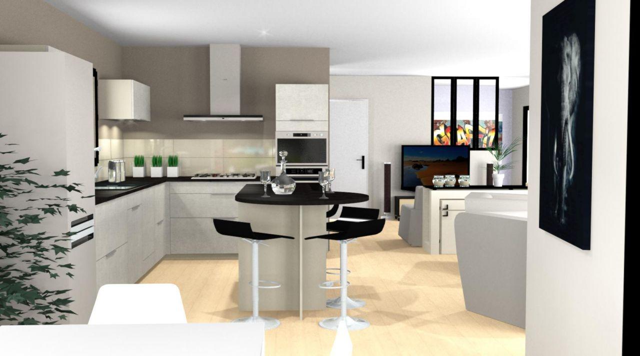 Simulation de notre future cuisine - Mobalpa