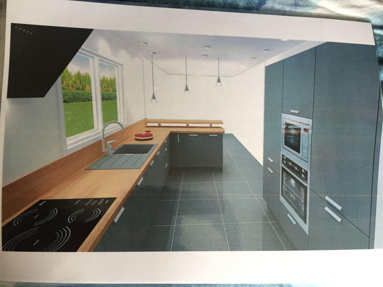 Rendez-vous chez DARTY pour imaginer notre future cuisine <br /> Vision 3D