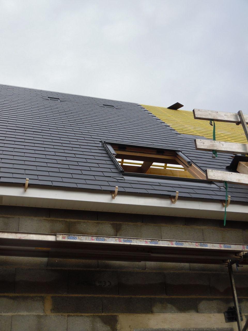 Le toit qui se couvre de ses plus beaux atours!