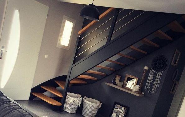 Notre escalier ressemblera à celui ci
