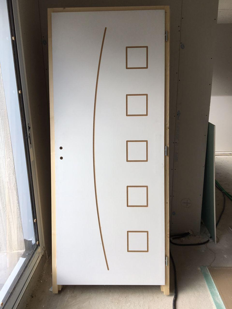 Portes intérieures pour le rez-de-chaussée