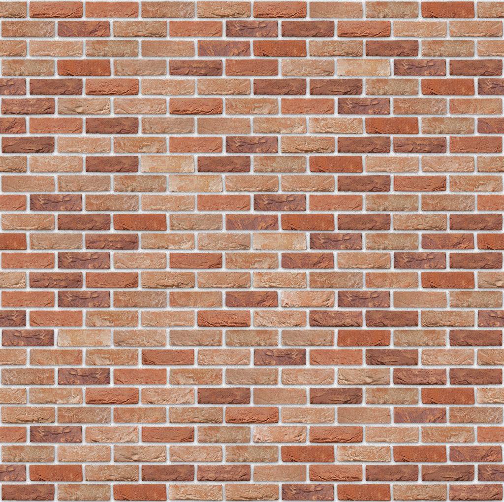Briques Azalea avec joints blancs <br /> (les murs seront en mur composite briques + parpaing)