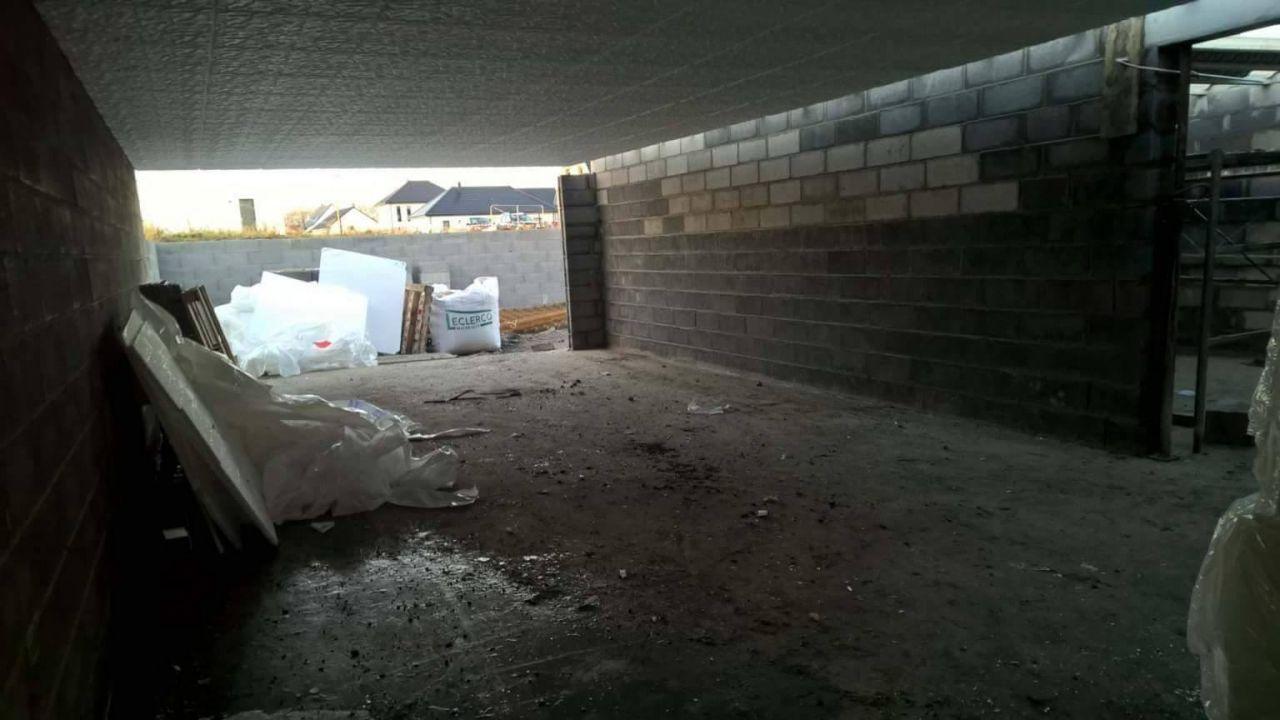 sous-sol et dalle rez de chaussée