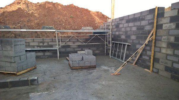 murs du sous-sol