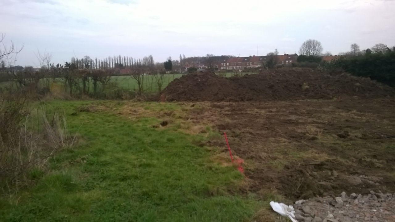 et un peu de terre à étaler ;)