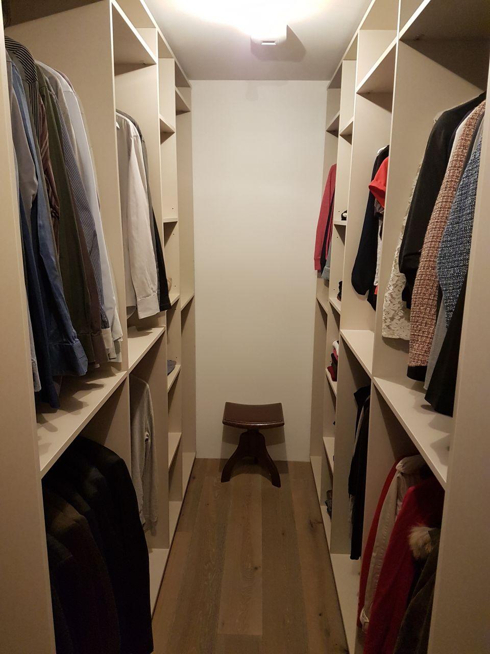Installation du dressing