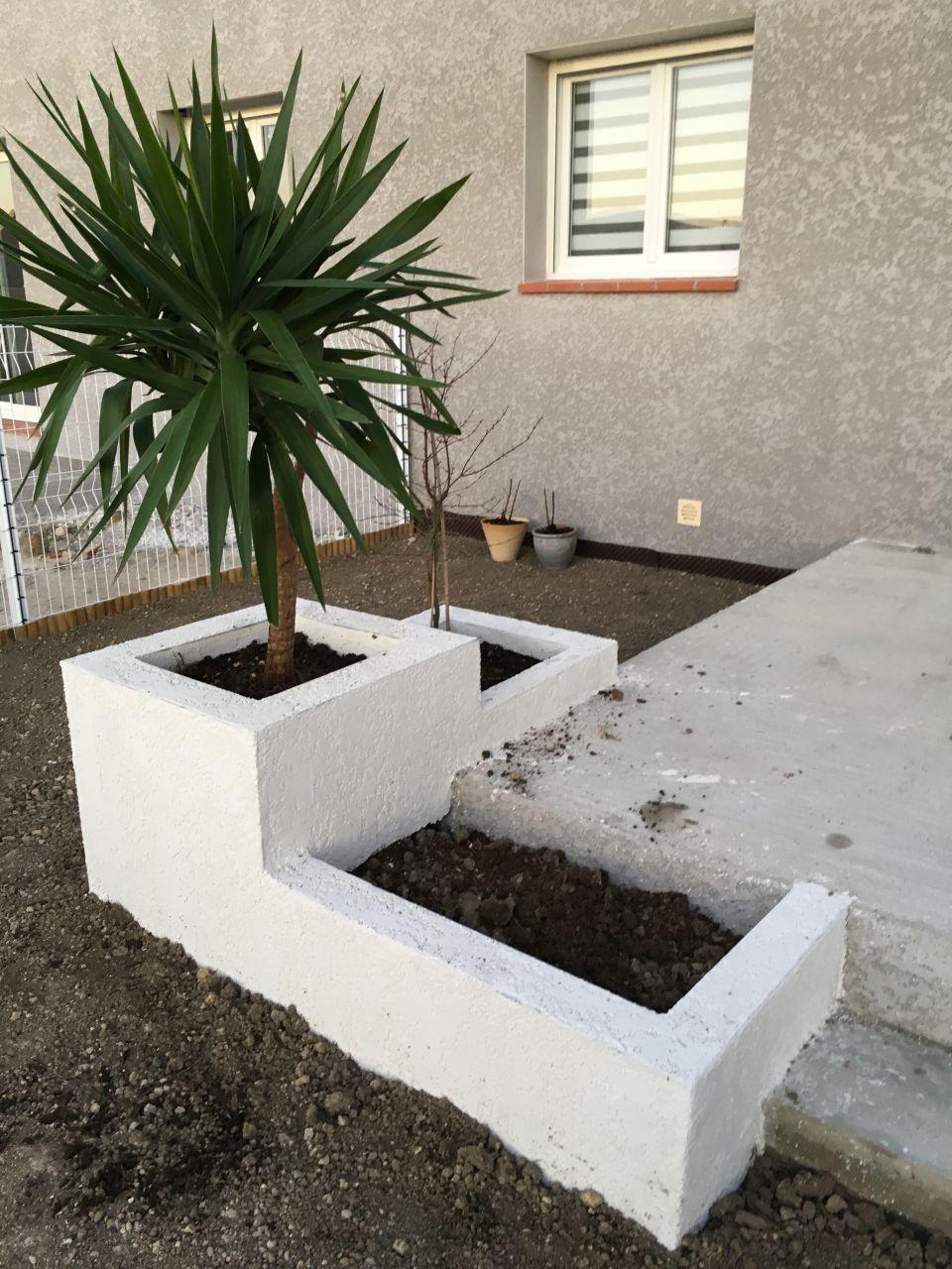 Jardinières étages terminées!!