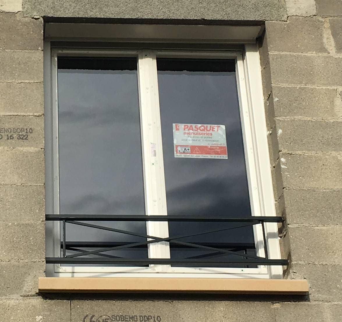 Fenêtre étage