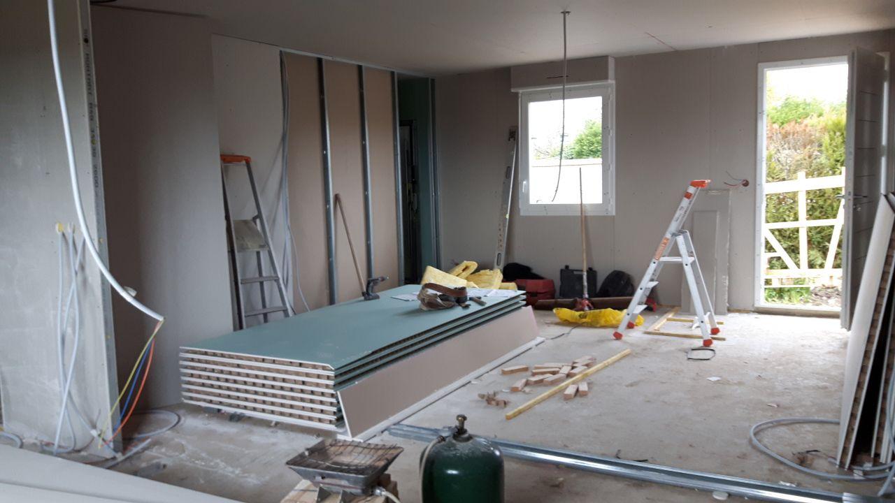 Cloisons - portes intérieures - Eure Et Loir (28) - mars 2017