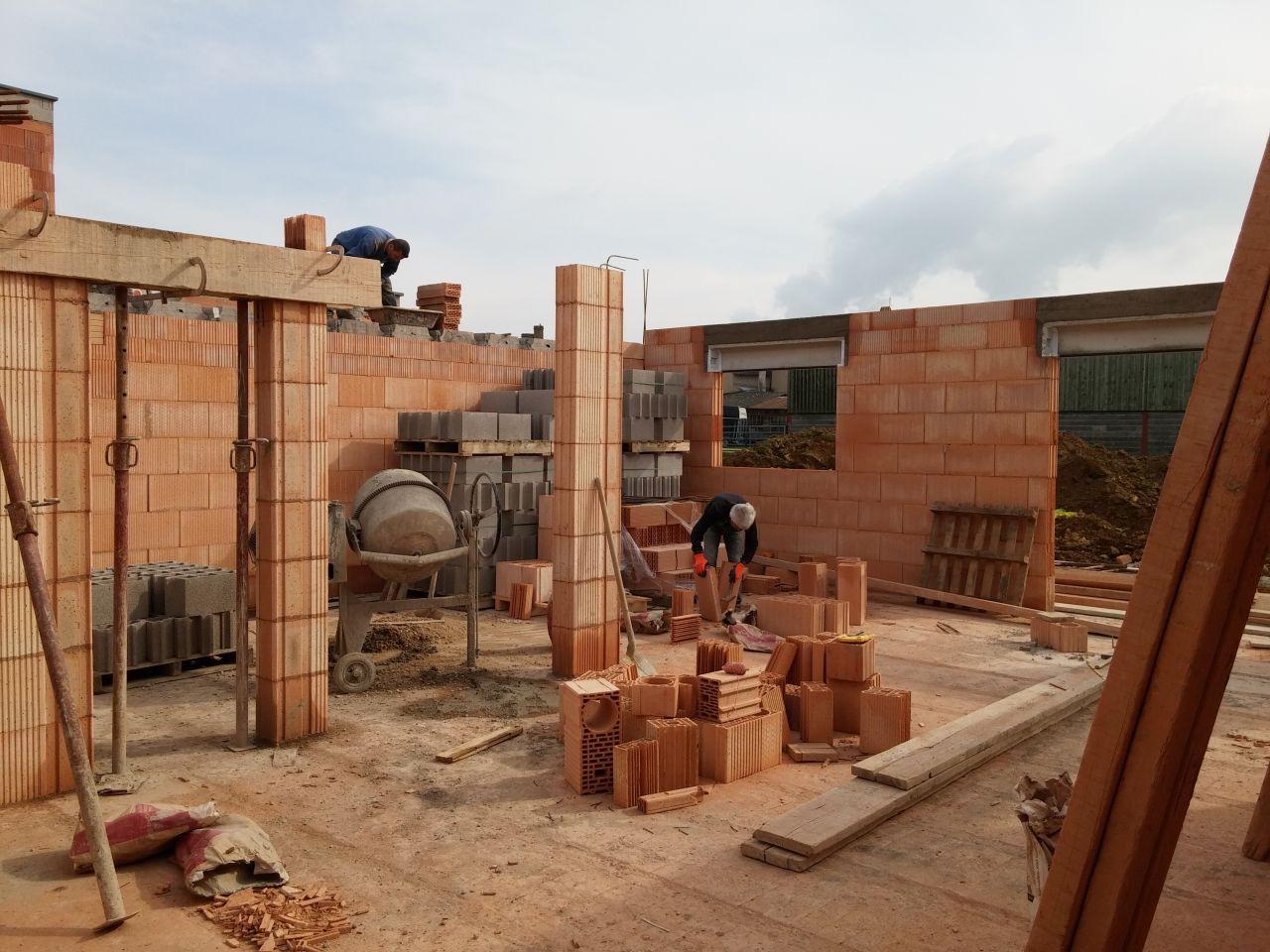 Le chantier en cours