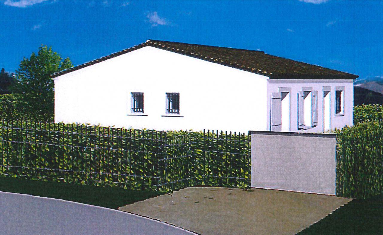Vue en 3D de la maison.