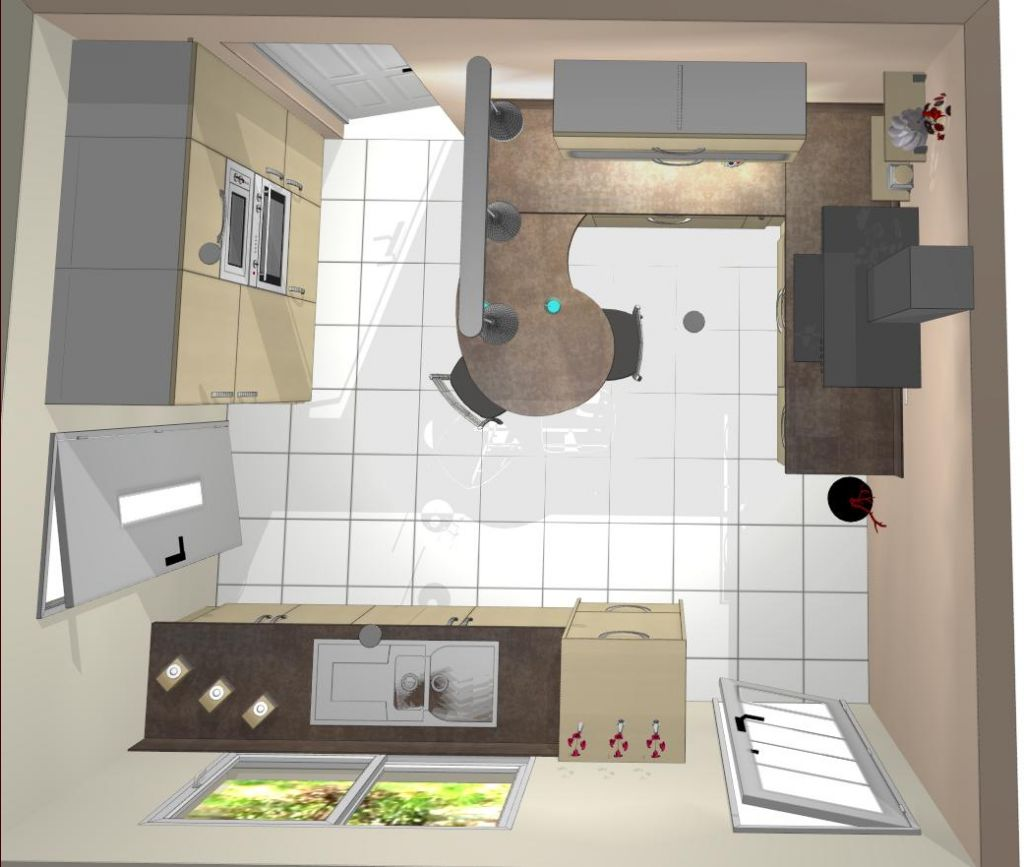 Maison contemporaine st avertin 37 st avertin indre for 3d cuisine deluxe