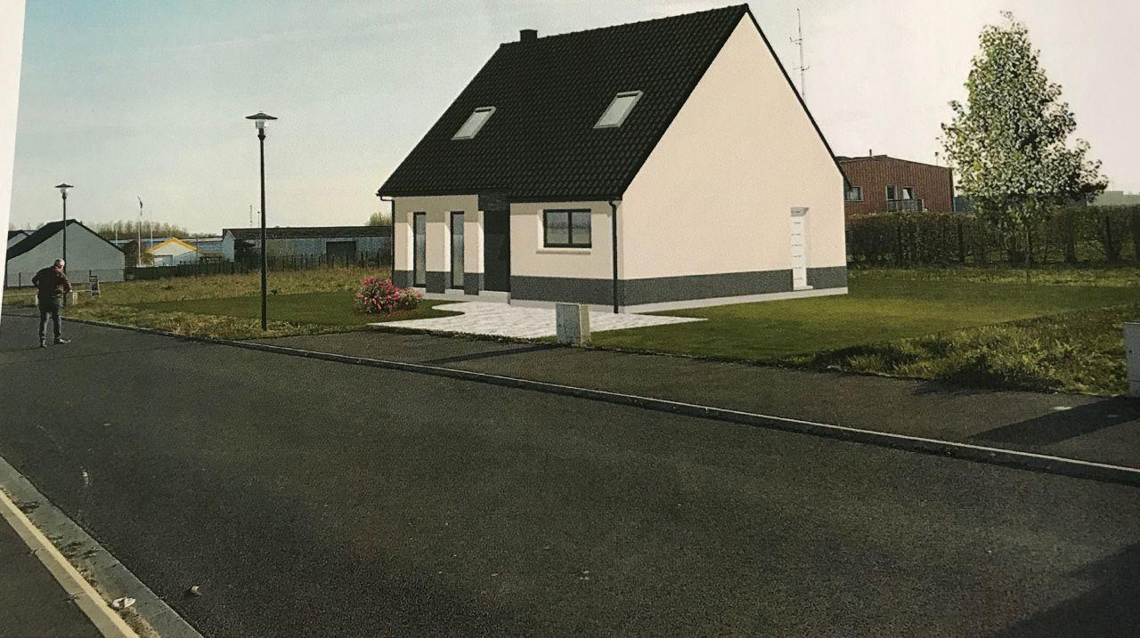 Maison sur le terrain
