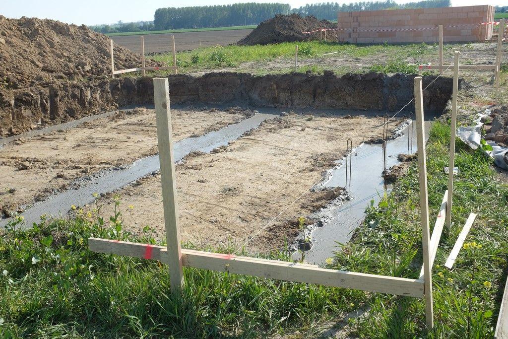 Vue d'ensemble des fondations coulées