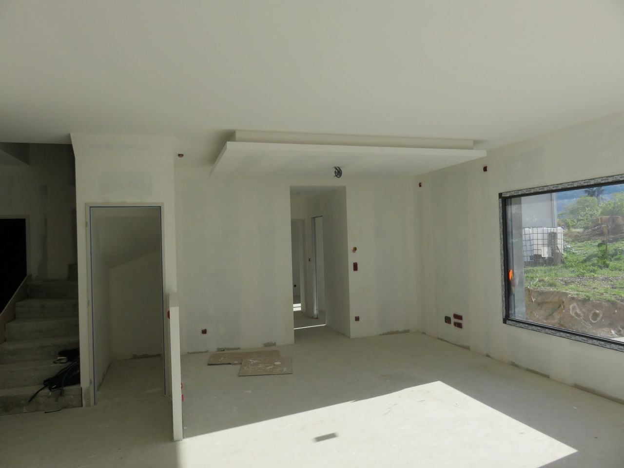 Ilot plafond salon
